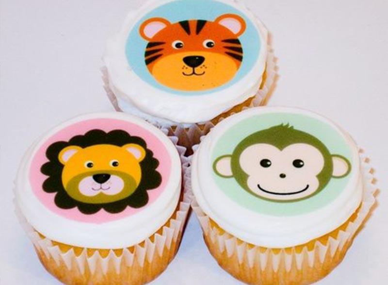 Cupcake decorative film